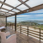 Knysna self catering guest house deck
