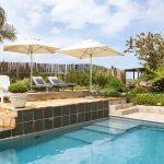 Narnia Knysna Guest House pool garden
